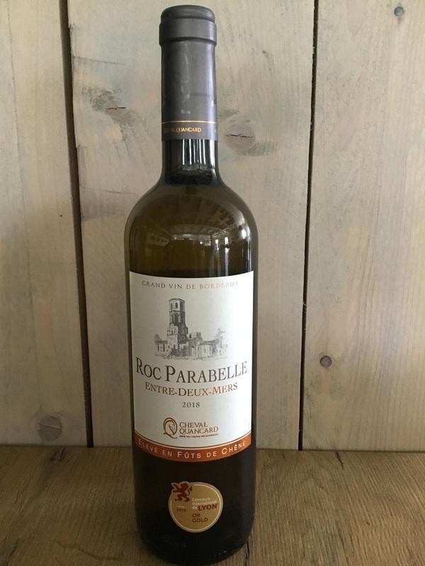 Bordeaux blanc, entre-deux-mers, Roc Parabelle, Cheval Quancard 2018