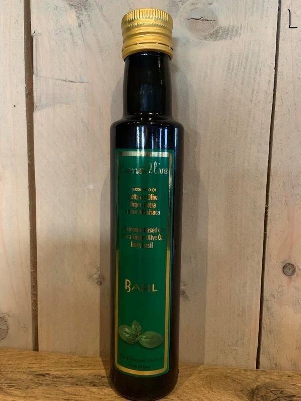 Vinaigrette op bases van olijfolie Basilicum 250ml