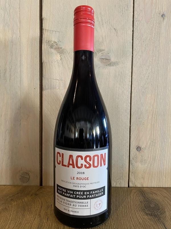 Clacson Le rouge 2018