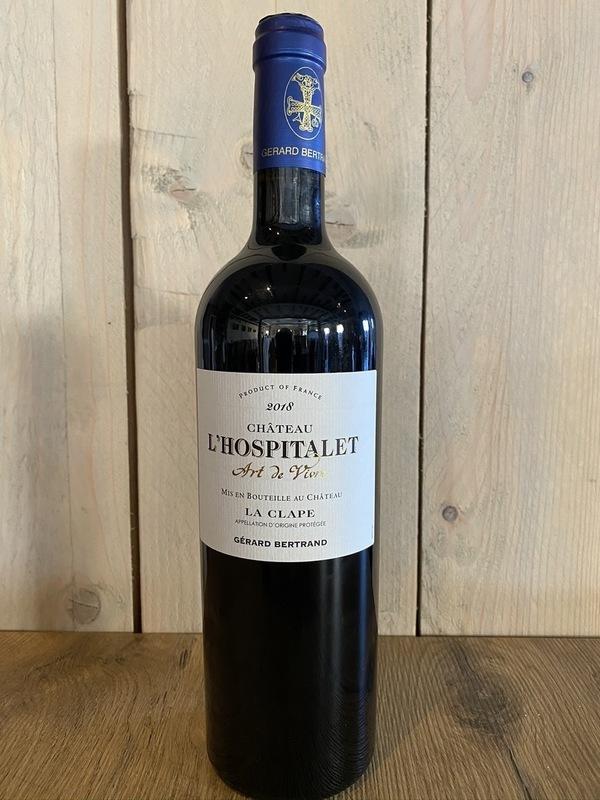 Château l'hospatalet Grand vin rouge 2018 Gérard Bertrand
