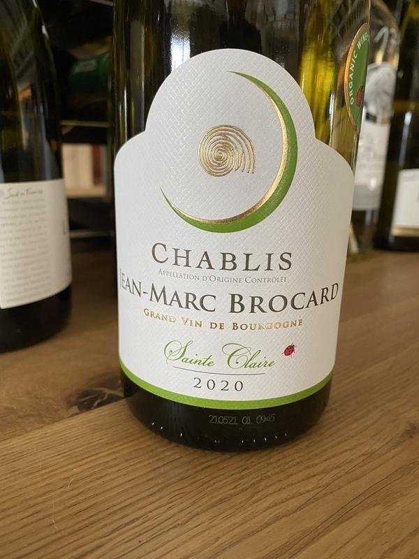 Chablis 2020 Saint Claire bio, Jean-Marc Brocard
