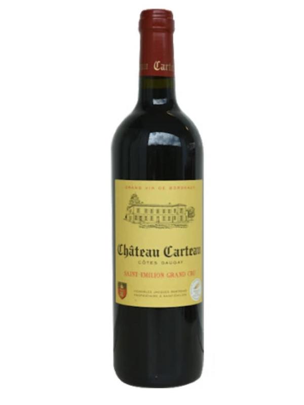 Château Carteau côtes Daugay Saint-Emilion Grand Cru 2016