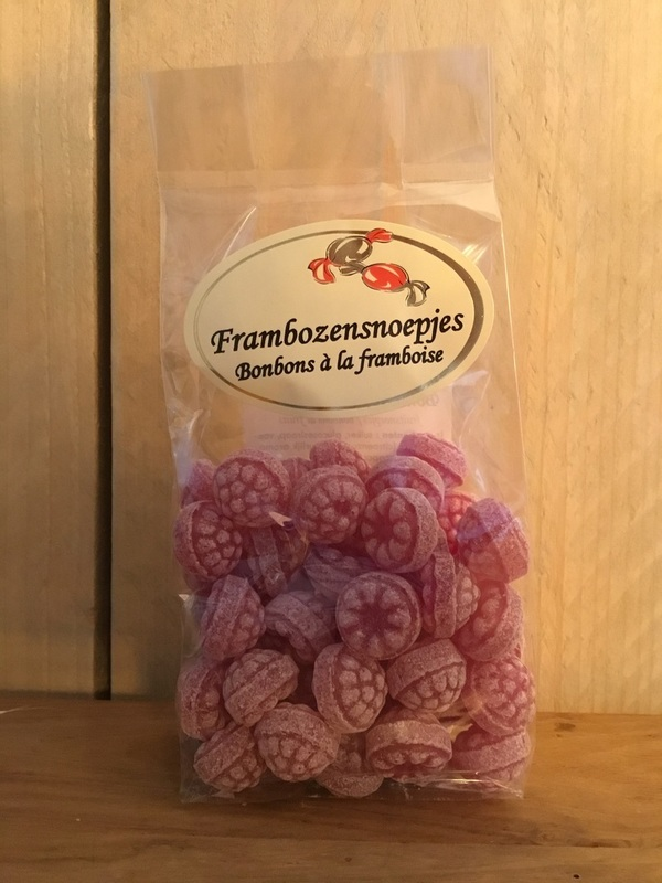 Frambozenbolletjes 150gr Edel