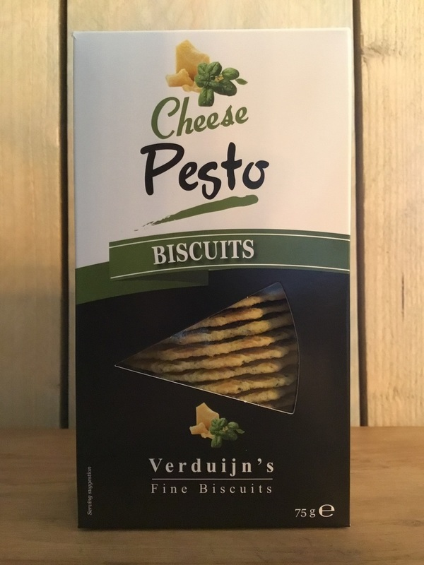 Cheese biscuits pesto 75gr VERDUIJN'S
