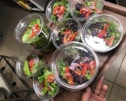 supplement kroketten en salade: 2,50€