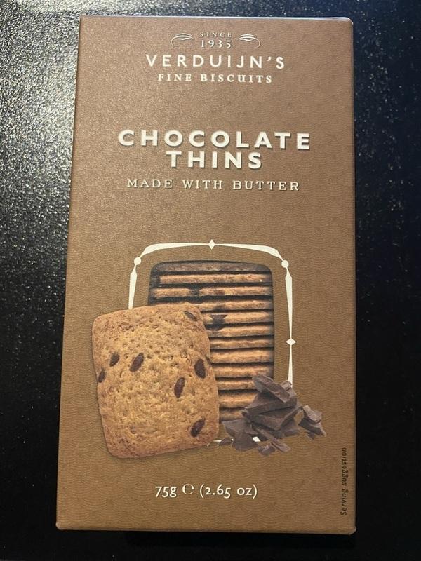 Chocolade biscuits 75gr Verduijn's