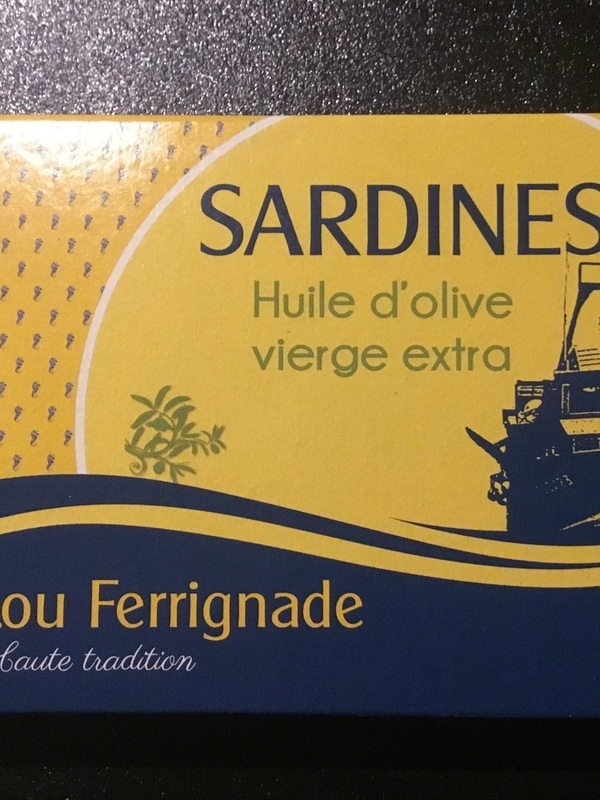 Sardines op olijfolie 115gr Lou Ferrignade