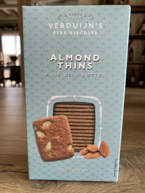 Almond Thins made with butter 75gr