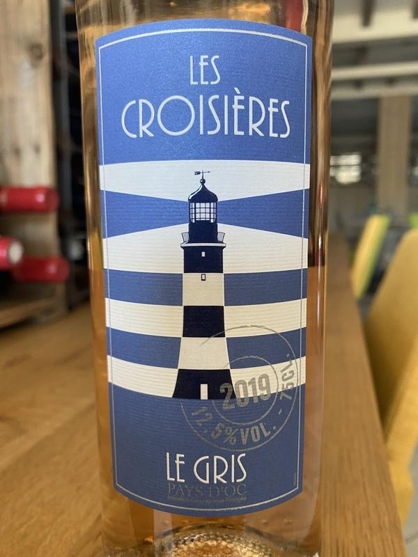 Les croisières Le gris 2019 vin de pays d'oc