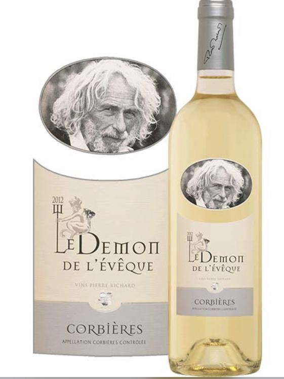 Démon de l'Évêque, Corbières Blanc, Pierre Richard 2019