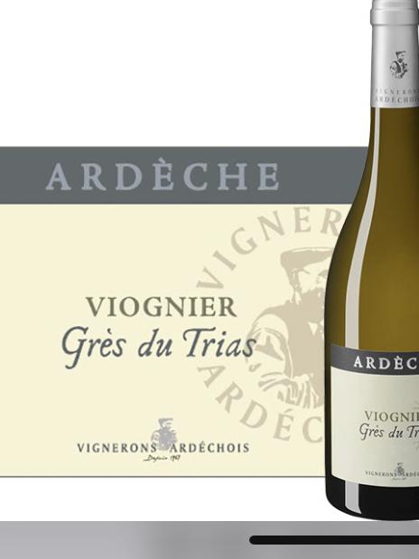 """Viognier """"Grès du Trias"""" IGP d'Ardèche 2019"""