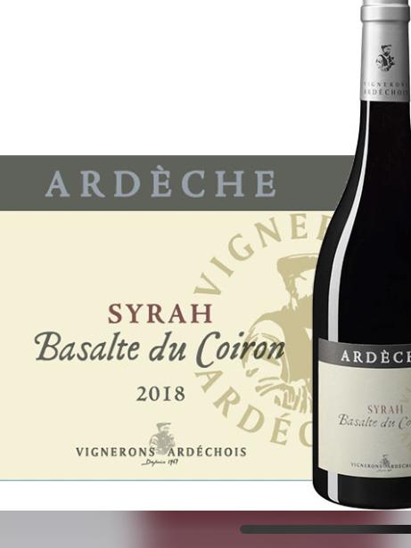 """Syrah """"Basalte du Coiron"""", Terroirs d'Ardèche 2018"""